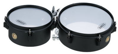 "TAMA MT810STBK METALWORKS ""EFFECT"" SERIES MINI-TYMPS набор тимбалес 4""x8"" + 4""x10"""