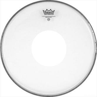 "REMO CS-0312-00 Batter Controlled Sound White Dot Clear 12"" пластик"