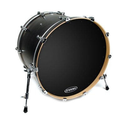 "Evans BD22RA EQ1 Resonant Black пластик 22"" для бас-барабана"
