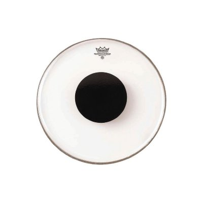 REMO CS-0312-10 Batter Controlled Sound Clear Black Dot On Top 12'' пластик