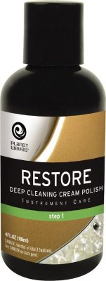 PLANET WAVES PW-PL-01 RESTORE - DEEP CLEANING CREAM POLISH полироль для глубокой очистки и удаления мелких царапин (шаг 1 из 3)