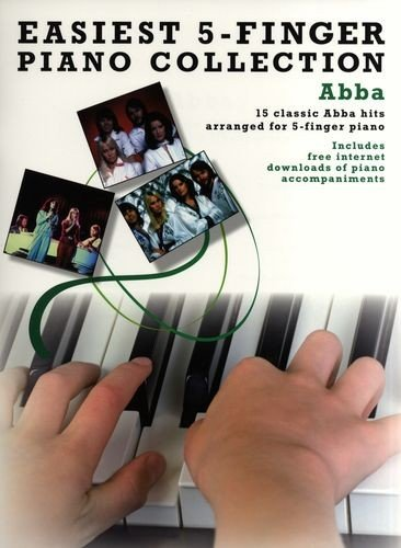 AM998404 Easiest Five Finger Piano Collection: Abba