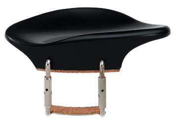 Подбородник для скрипки 4/4 GEWA STROBEL CHIN REST Ebony чёрное дерево