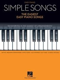 HL00142041 SIMPLE SONGS EASIEST EASY PIANO SONGS PF BK