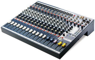 SOUNDCRAFT EFX12 микшер 12 моно, 2 стерео, 2 AUX процессор эффектов Lexicon