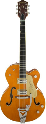 Gretsch G6120T-59 Vintage Select Edition '59 Chet Atkins Bigsby TVJones Vintage Orange Stain Lacquer электрогитара