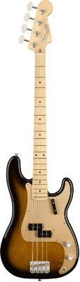 "Fender American Original ""50s Precision Bass® Maple Fingerboard 2-Color Sunburst бас-гитара"