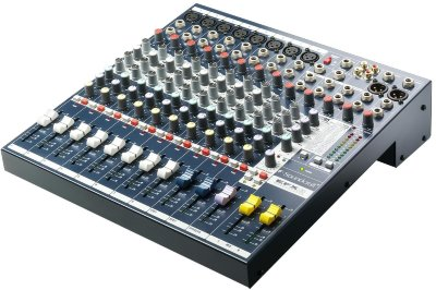SOUNDCRAFT EFX8 Микшерный пульт 8 mono-2 stereo, 2 AUX процессор Lexicon