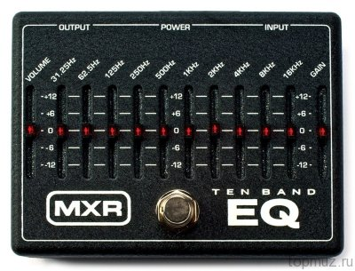 DUNLOP MXR M108 EU 10-Band Graphic EQ