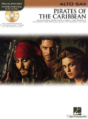 HL00842185 - Klaus Badelt: Pirates Of The Caribbean (Alto Sax) - книга:...