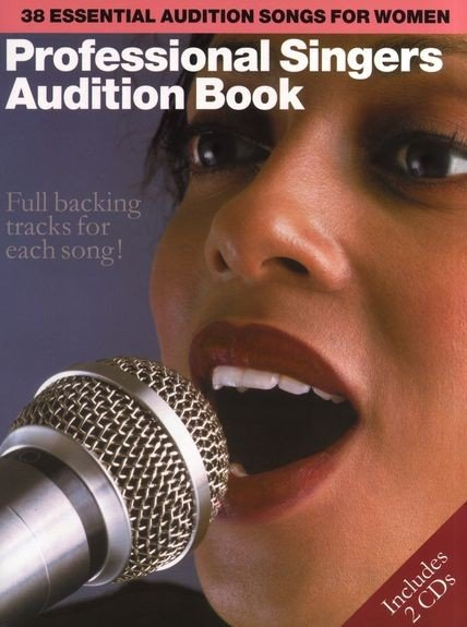 AM966680- PROFESSIONAL SINGERS AUDITION BOOK WOMEN PVG BOOK/2CD