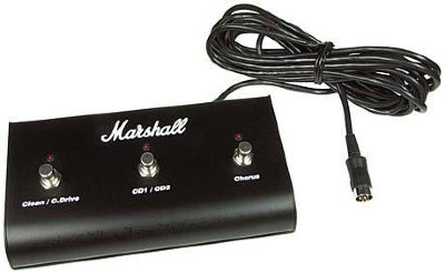 MARSHALL MPM3E ANNIVERSARY FOOTSWITCH (3 WAY) футсвич для усилителей MARSHALL DSL