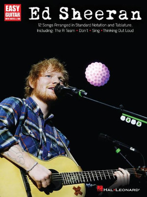HL00146046 SHEERAN ED FOR EASY GUITAR GTR BK