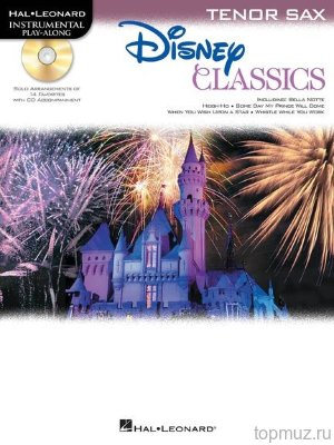 HL00842629 - Tenor Saxophone Play-Along: Disney Classics - книга:...