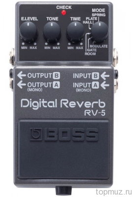 Педаль BOSS RV-5 Digital Reverb для электрогитары