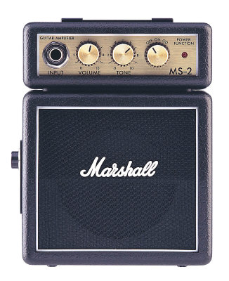 MARSHALL MS-2 MICRO AMP комбик для гитары 1 Вт