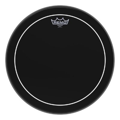 REMO ES-0613-PS Batter Pinstripe Ebony 13'' пластик