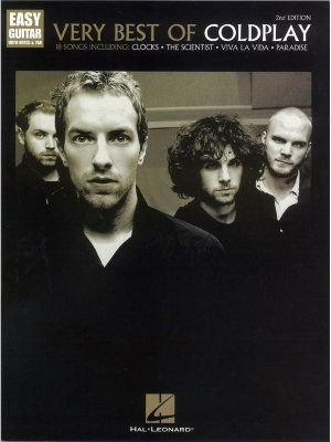 HL00222697 COLDPLAY THE VERY BEST OF SECOND EDITION FOR EASY GUITAR BOOK