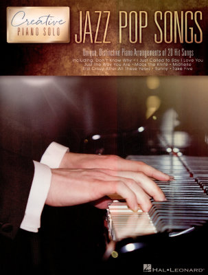 HL00195426 CREATIVE PIANO SOLO JAZZ POP SONGS PIANO BOOK