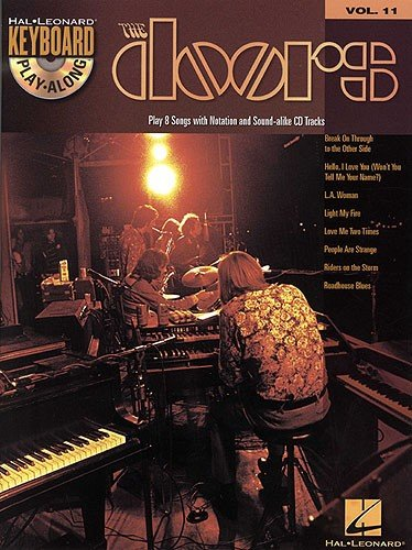 HL00699886 The Doors: Keyboard Play-Along Volume 11 (Book And CD)...