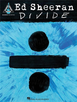 HL00234543 SHEERAN ED ч DIVIDE GUITAR TAB BOOK