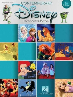 HL00195620 CONTEMPORARY DISNEY THIRD EDITION 50 FAVORITE SONGS PVG BOOK