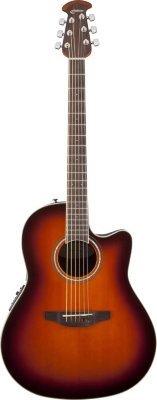 Ovation CS24-1 Celebrity Standard Mid-Depth Cutaway Sunburst электроакустическая гитара
