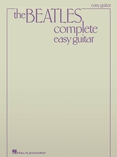 HL00696082 THE BEATLES COMPLETE UPDATED EDITION EASY GUITAR BOOK