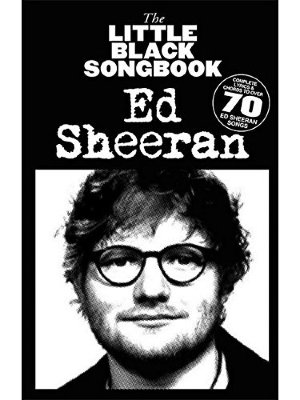 HLE90004904 LITTLE BLACK SONGBOOK OF ED SHEERAN BK