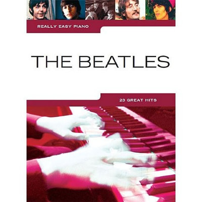 HL00242082 REALLY EASY PIANO THE BEATLES PF BOOK