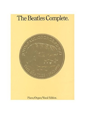 HL00256161 THE BEATLES COMPLETE PIANO/ORGAN EDITION PF/ORG/VCL REVISED...