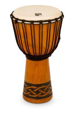 "Toca TODJ-8CK Origins Series Rope Tuned Wood Djembe Celtic Knot Small джембе 8""х16"""