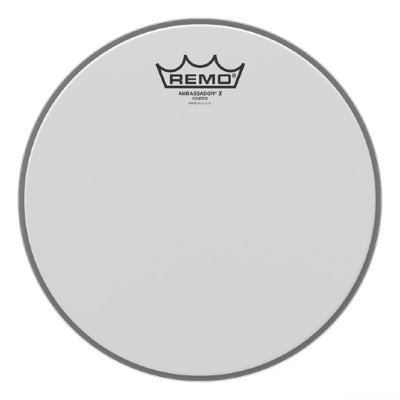 "REMO AХ-0115-00 Batter Ambassador Coated 15"" пластик для томов и малых барабанов"