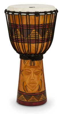 "Toca TODJ-8TM Origins Rope Tuned Djembe джембе 8""х16"" Tribal Mask"
