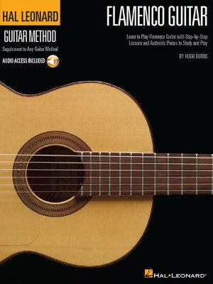 HL00697363 BURNS HUGH HAL LEONARD GUITAR METHOD FLAMENCO GUITAR GTR TAB...