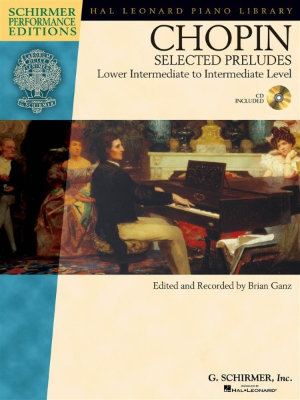 HL00296720 Frederic Chopin: Selected Preludes Piano (Book And CD)...