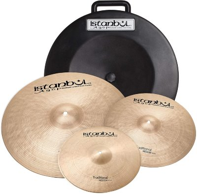 "ISTANBUL AGOP ITRS TRADITIONAL TRADITIONAL (14"" HI-Hats, 16"" Crash, 20"" Ride) набор тарелок + кейс"