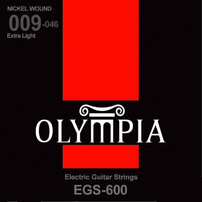 OLYMPIA EGS 600 009-046 Nickel Wound струны для электрогитары