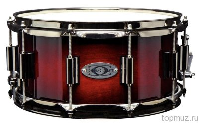 "DrumCraft Series 8 Cardiac Burst Black Nickel HW Maple 14x6,5"" малый барабан"