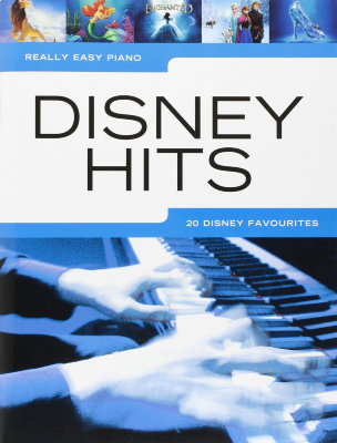 HLE90004882 - REALLY EASY PIANO DISNEY HITS EASY PF BOOK