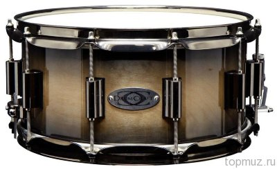 "DrumCraft Series 8 Cream Mocca Burst Black nickel HW Birch 14""х6,5"" малый барабан"