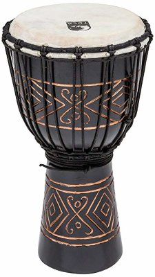 "Toca TSSDJ-SBO Street Series Rope Tuned Wood Djembe Black Onyx Small джембе 8""х16"""