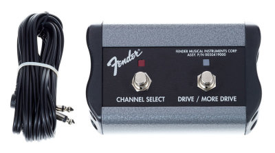 "FENDER 2-Button 3-Function Footswitch: Channel / Gain / More Gain with 1/4"" Jack футсвич"
