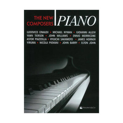 VOLMB643 - PIANO THE NEW COMPOSERS PIANO SOLO BOOK