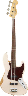 Fender Flea Jazz Bass Rosewood Fingerboard Roadworn Shell Pink бас-гитара