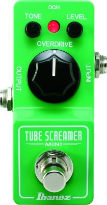 IBANEZ TSMINI TUBE SCREAMER MINI педаль офердрайв