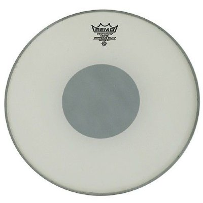REMO CS-0116-10 Batter, Controlled Sound, Coated, Black Dot On Bottom, 16'' пластик