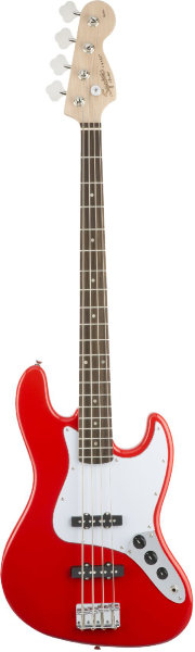 Fender SQUIER AFFINITY J BASS RCR бас-гитара