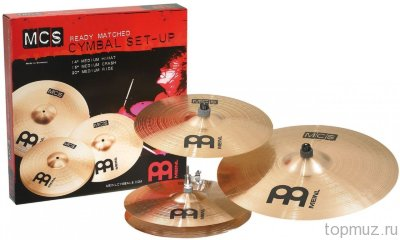 MEINL MCS Bronze Complete Cymbal Set-Up 14/16/20 комплект тарелок
