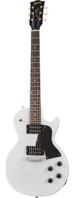 GIBSON Les Paul Special Tribute Humbucker Worn White Satin электрогитара